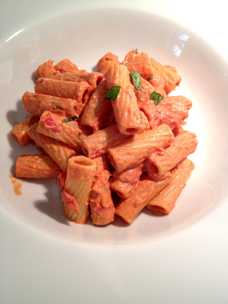 Rigatoni Vodka www. good-good-things.com #vegan
