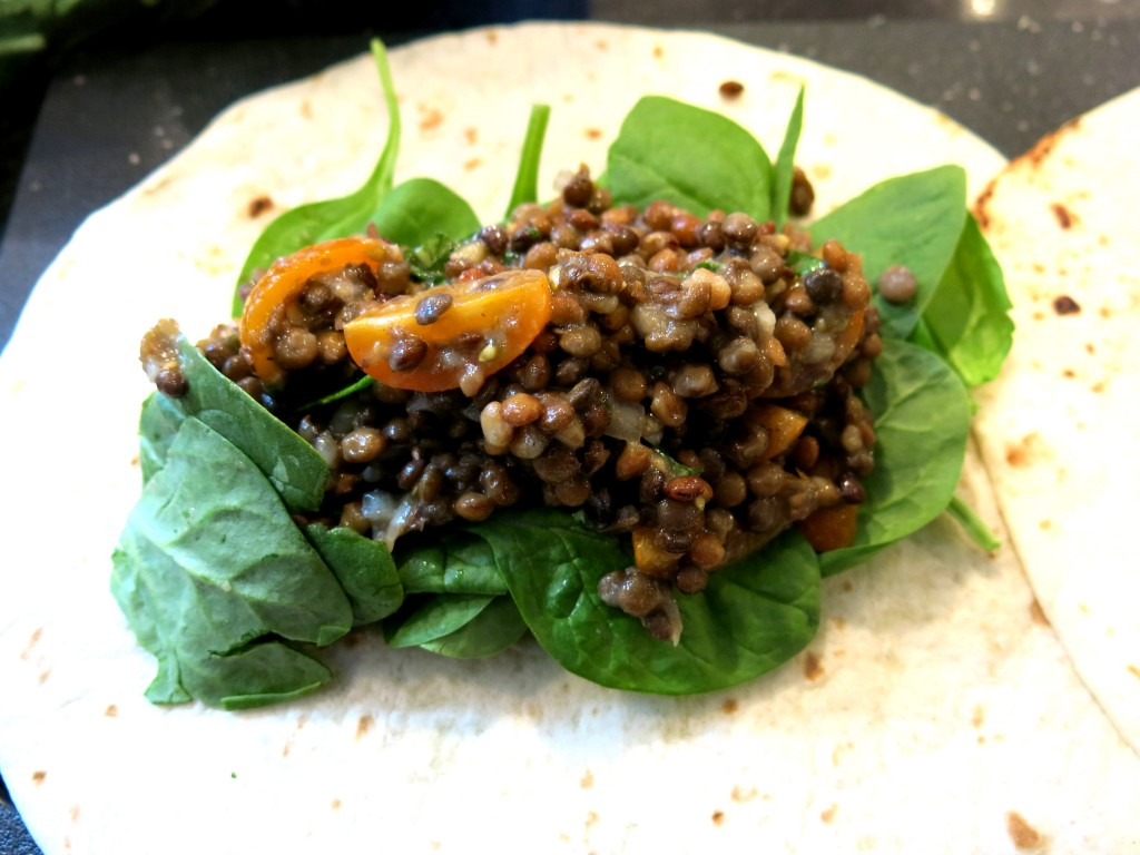 Lentil Salad w. Lemon and Basil www.good-good-things.com