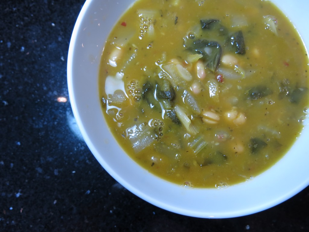 White Bean and Escarole Soup www.good-good-things.com