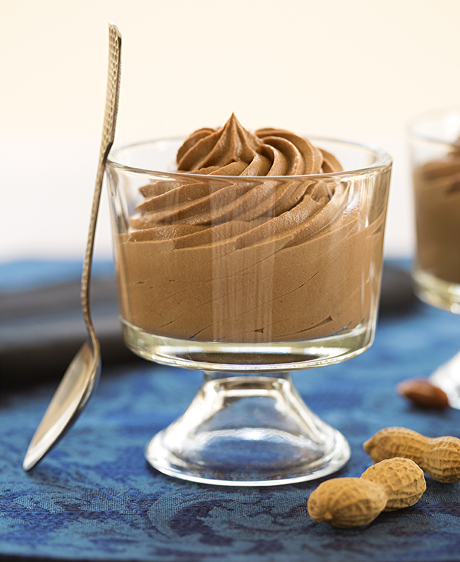 Peanut Butter-Chocolate Mousse